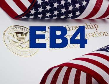 مهاجرت به آمریکا از طریق EB-4