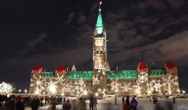 جشن سال نو میلادی در کانادا
