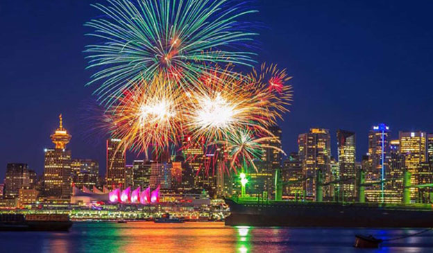 جشن سال نو - ونکوور