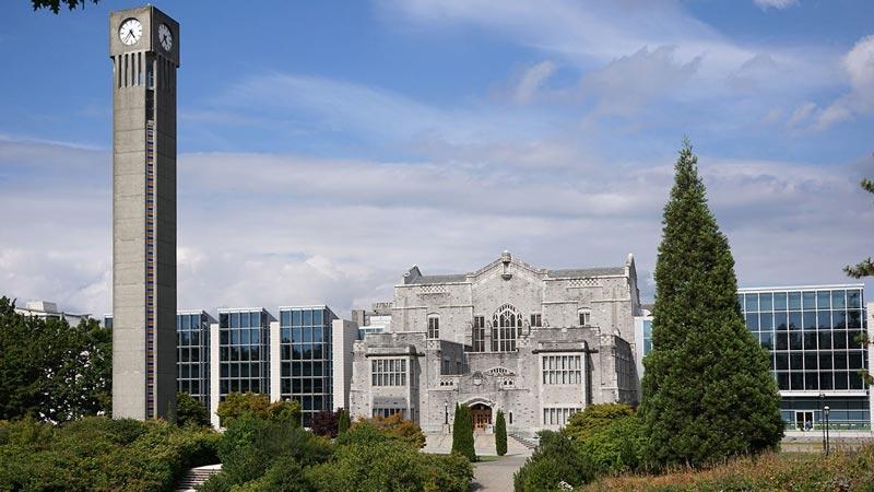 دانشگاه بریتیش کلمبیا کانادا