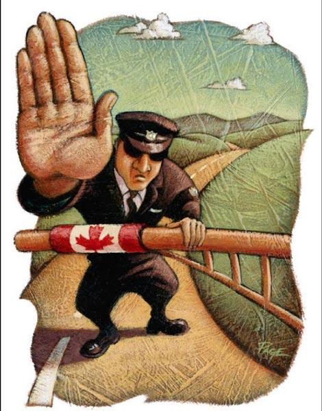 مهاجرین غیرقانونی کانادا