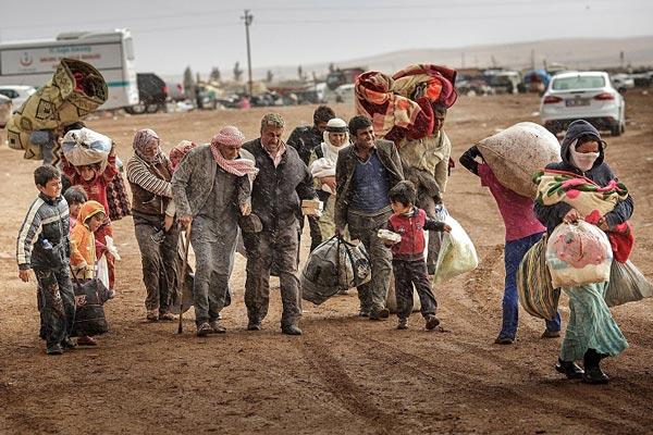 کاهش مهاجرین غیر قانونی