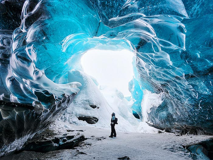 مناطق دیدنی کانادا - غارهای یخی