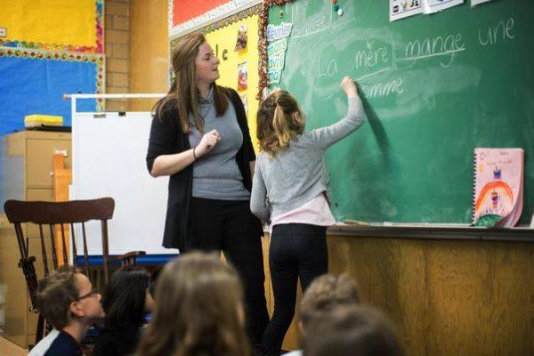 معلمان فرانسه زبان