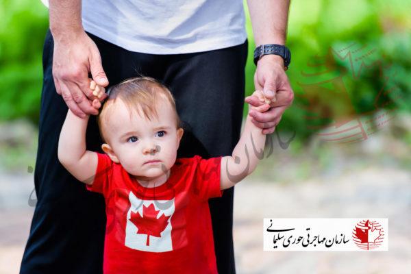 نام های محبوب کودکانه در کانادا