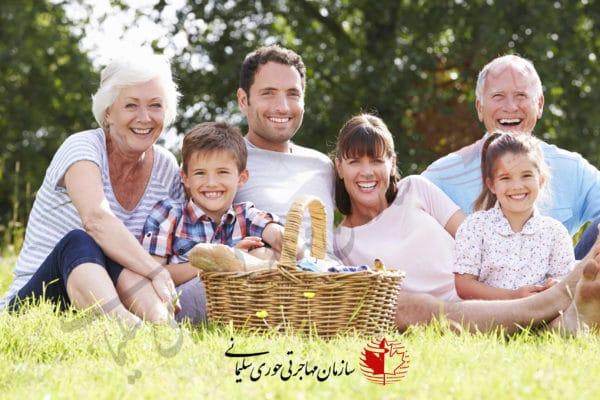 برنامه مهاجرت والدین و پدربزرگ و مادربزرگ ها