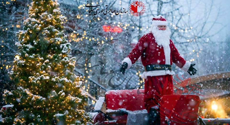 بازارچه رایگان کریسمس در کلگری افتتاح شد