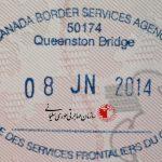 تاریخ انقضا ویزای اقامت موقت