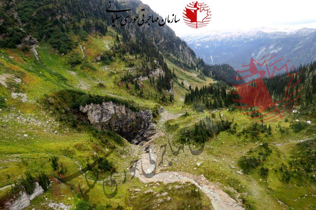 بزرگترین غار کانادا در بریتیش کلمبیا کشف شد