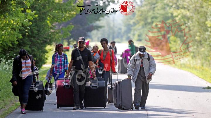 درخواست پناهندگی در کانادا با شرایط اقتصادی دشوار در کشور مبدا