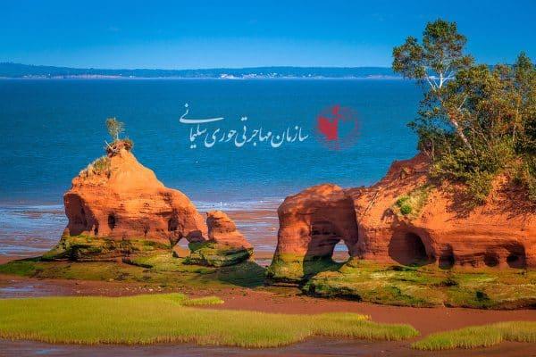 جاذبه های گردشگری کانادا : خلیج فاندی