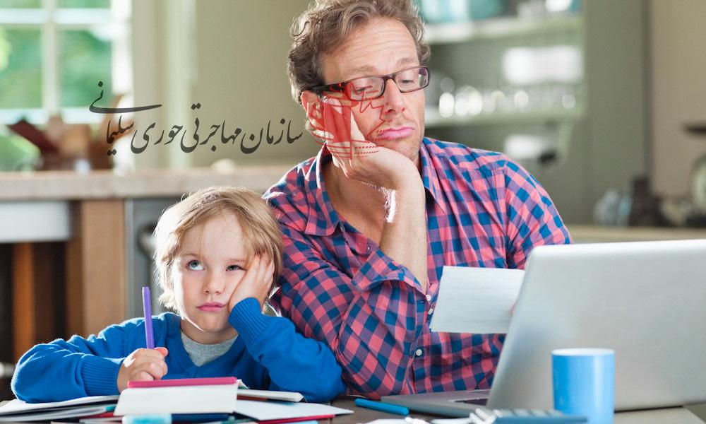 گزارش برنامه کاری والدین کانادایی و مشکل مراقبت از کودکان
