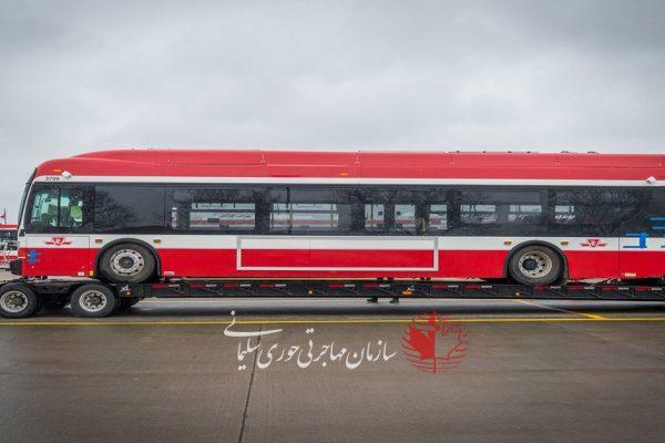 رونمایی از اتوبوس الکتریکی جدید تورنتو