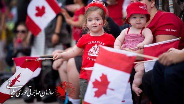 رفتار مردم کانادا